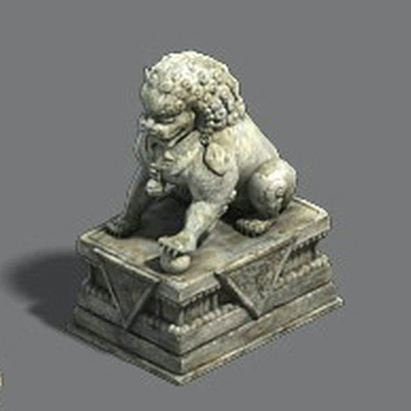 Medium city - stone lion