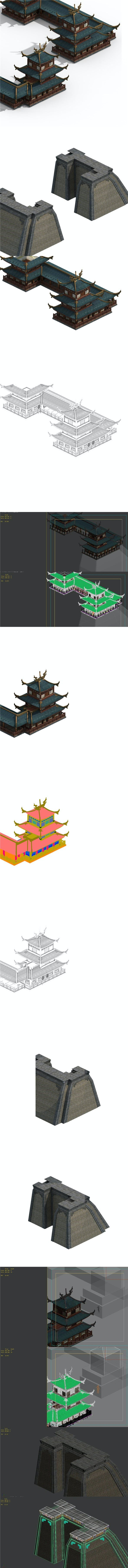 China large city - 3DOcean Item for Sale