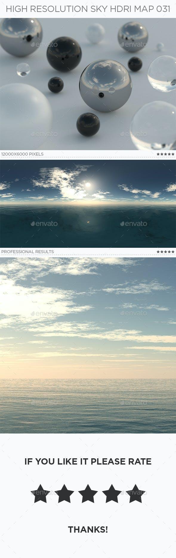 High Resolution Sky HDRi Map 031 - 3DOcean Item for Sale