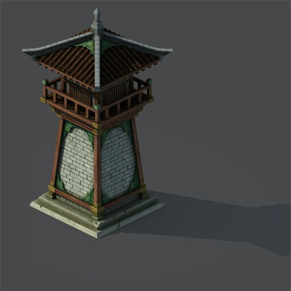 Gang building - tower