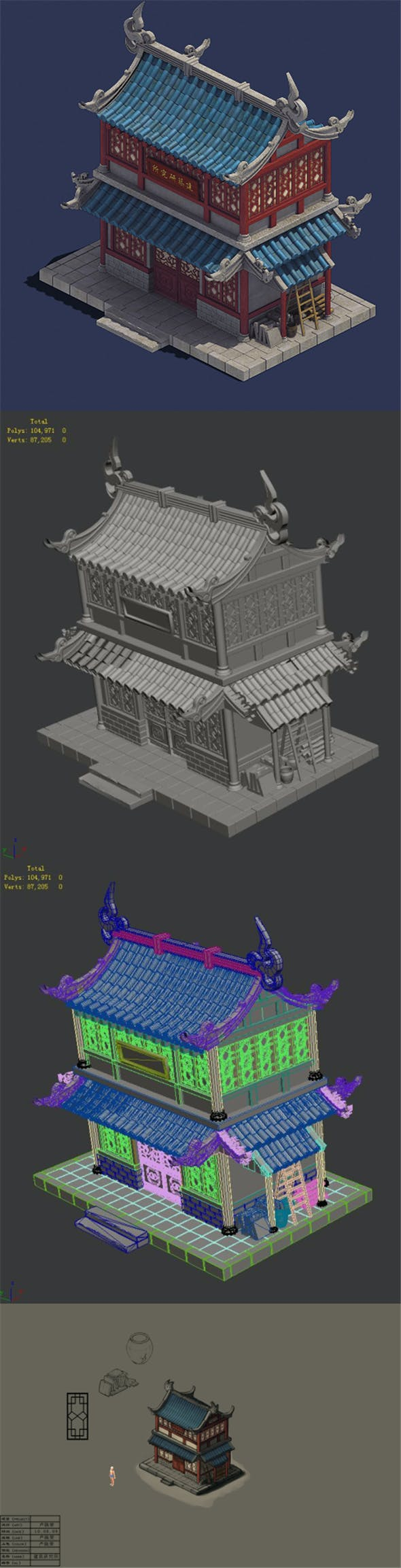 Gang - building institute - 3DOcean Item for Sale