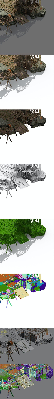 Tribe - entrance - 3DOcean Item for Sale