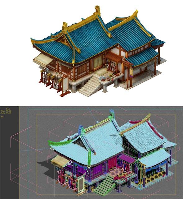 City Building - Blacksmith - 3DOcean Item for Sale