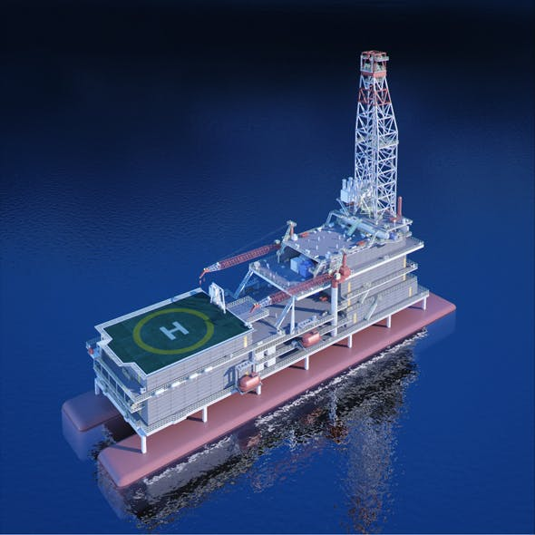 Submersible Oilrig