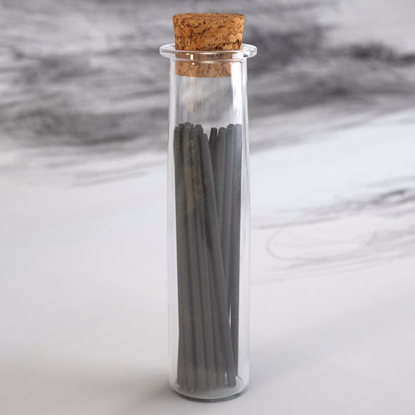 HD Glass Phial with Graphite