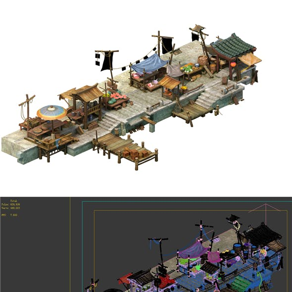Game Model - City Food Market