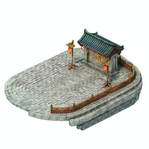 Game Model - City Wangbangwen posted at