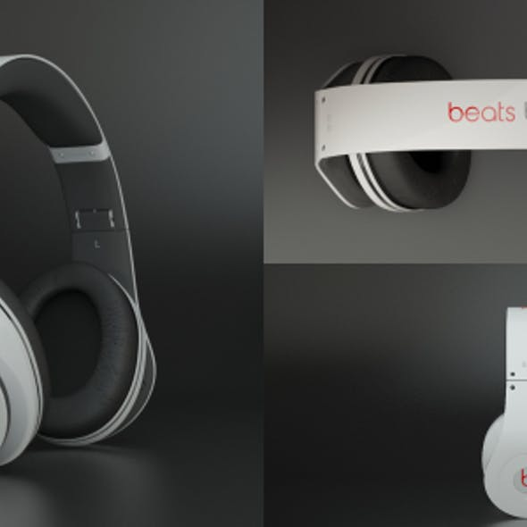 Photoreal Beats Studio Headphones by Dre