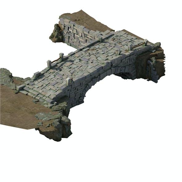 Village - stone bridge