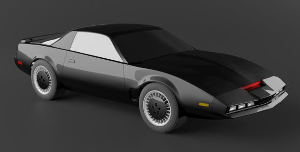 KITT Knight Rider Pontiac Firebird 1982 - 3DOcean Item for Sale
