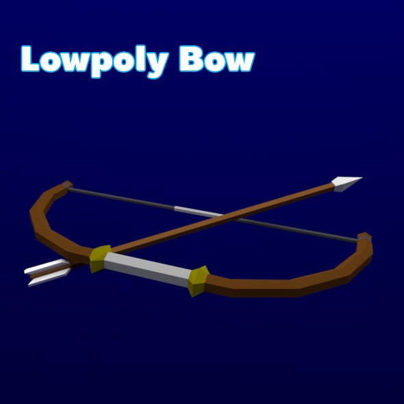 Lowpoly Bow