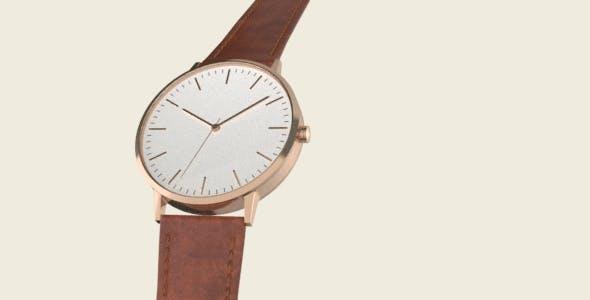 Designer Modern Watch - 3DOcean Item for Sale