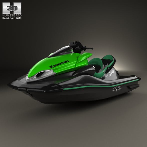 Kawasaki Ultra 310LX 2014 - 3DOcean Item for Sale