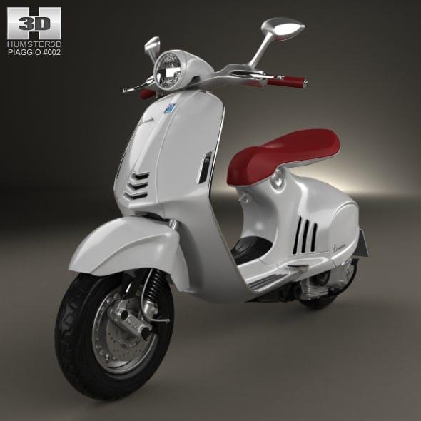 Piaggio Vespa 946 2013 - 3DOcean Item for Sale