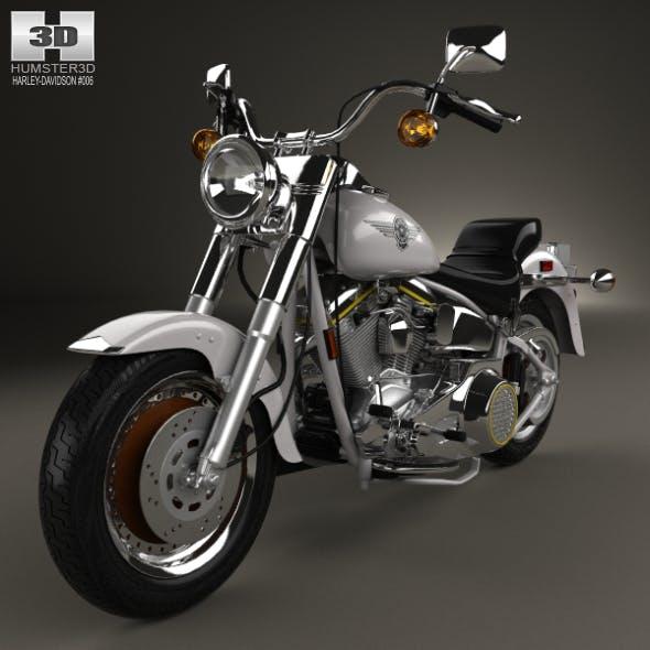 Harley-Davidson FLSTF Fat Boy 1990 - 3DOcean Item for Sale
