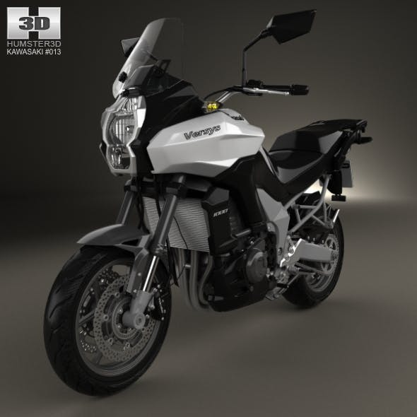 Kawasaki Versys 1000 2014 - 3DOcean Item for Sale