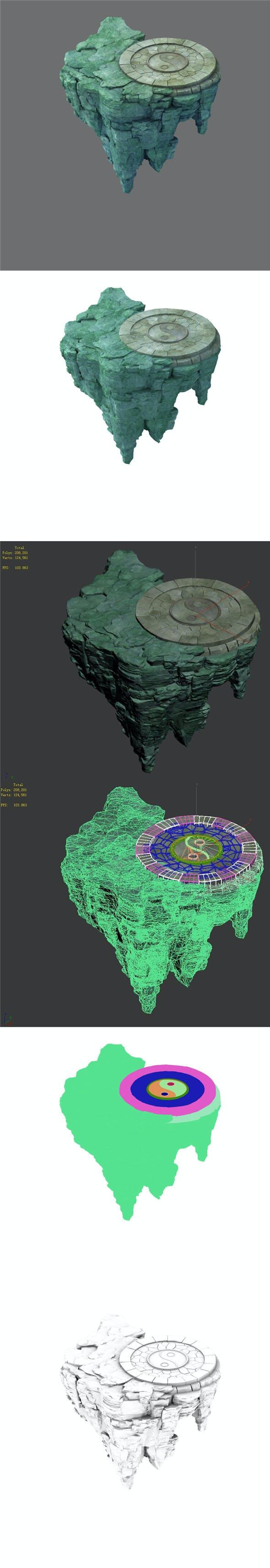 Terrain - Stone 11 - 3DOcean Item for Sale