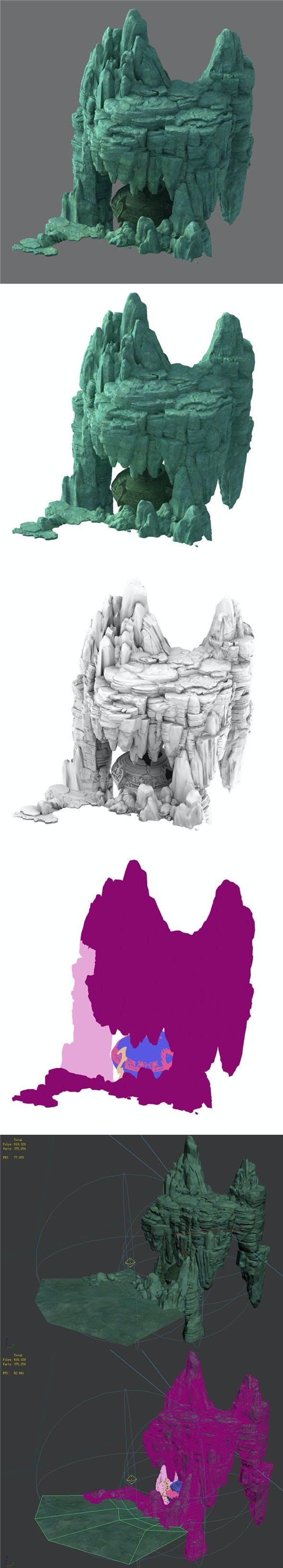 Terrain - Stone 14 - 3DOcean Item for Sale