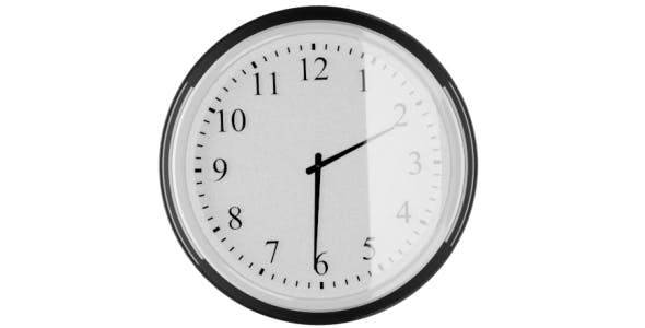 Large Wall Clock with glass front IKEA Style - 3DOcean Item for Sale
