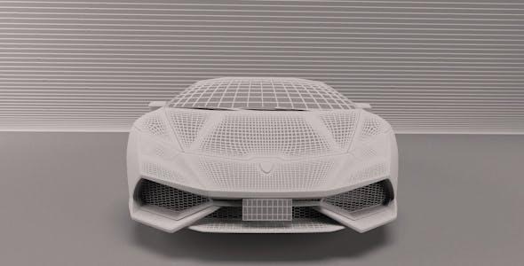 Lamborghini Huracan - 3DOcean Item for Sale