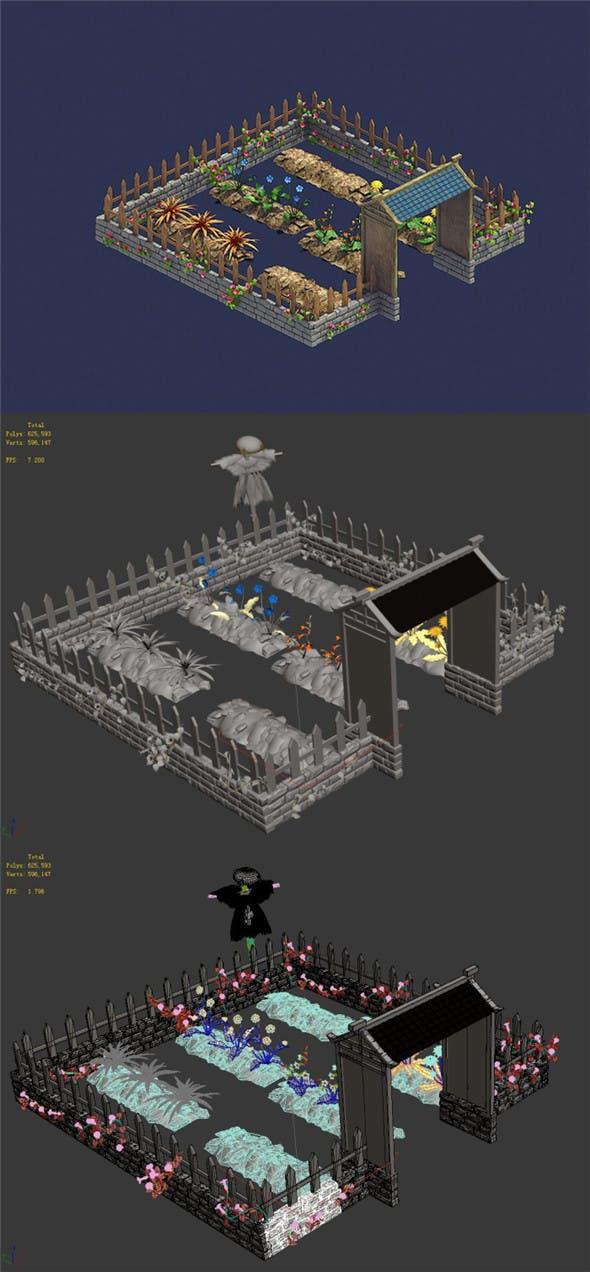 Personal - Plantation 05 - 3DOcean Item for Sale