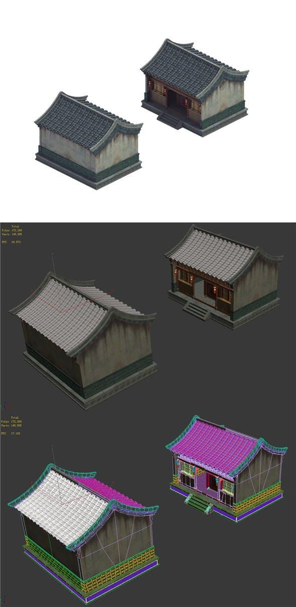 Heyang City - House 05 - 3DOcean Item for Sale