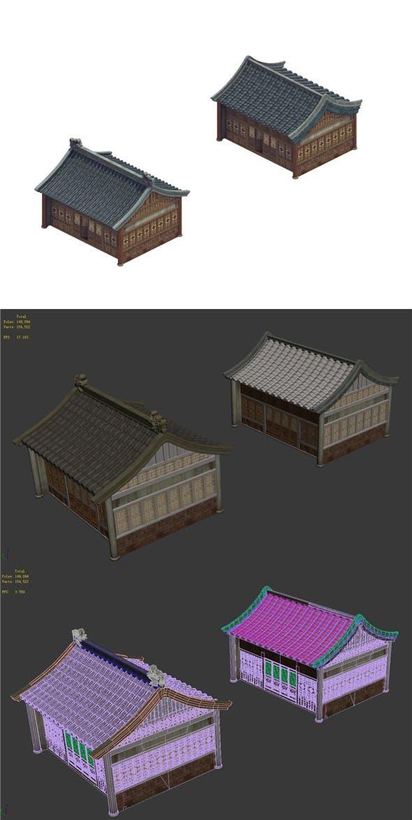 Heyang City - House 07 - 3DOcean Item for Sale