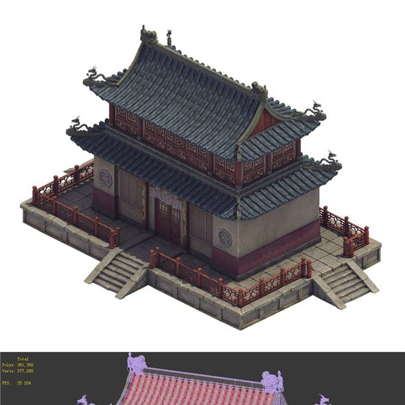 Heyang City - Temple Hall