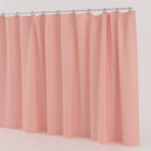 Realistic Cloth Curtain