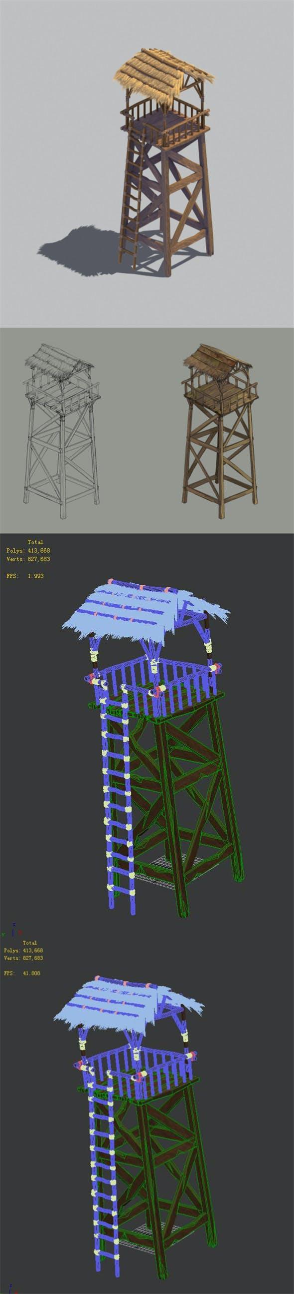 Barracks - 3DOcean Item for Sale