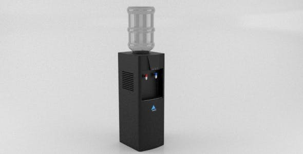 Modern Realistic Office Water Dispenser vray - 3DOcean Item for Sale