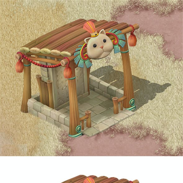 Cartoon version - Beiting - shelter