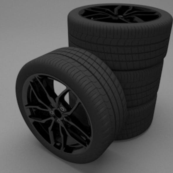 Forged Aluminium Mono-Block Wheels