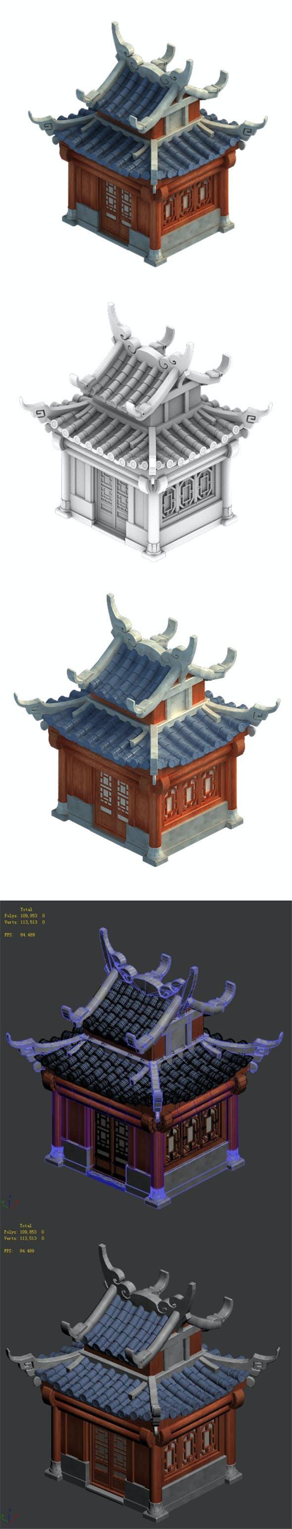 Cartoon - house 14 - 3DOcean Item for Sale
