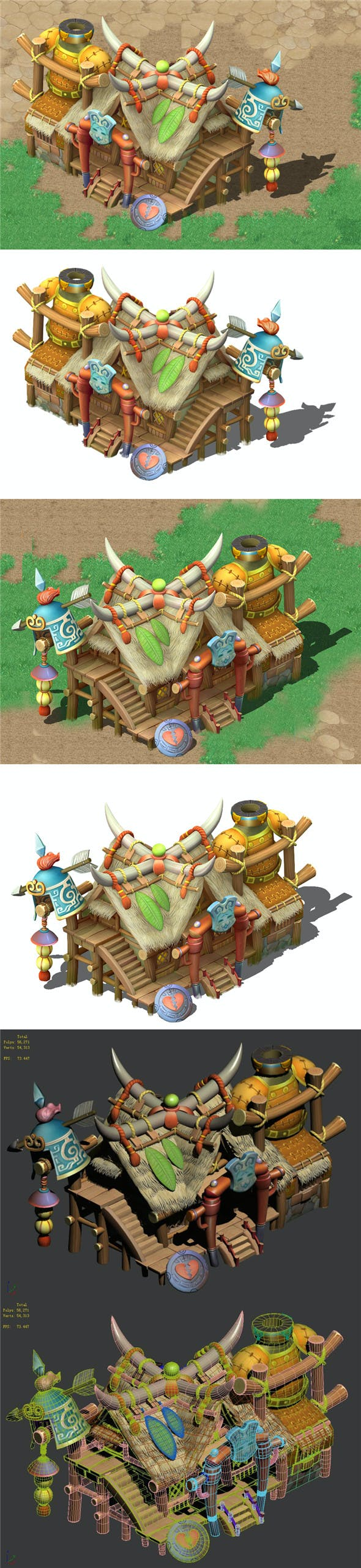 Cartoon World - Armory Shop 04 - 3DOcean Item for Sale