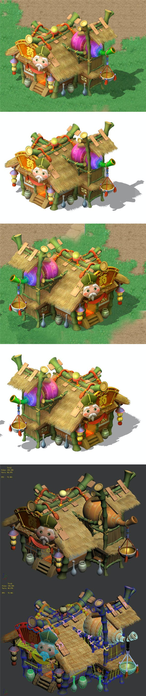 Cartoon World - Drugstore - 3DOcean Item for Sale