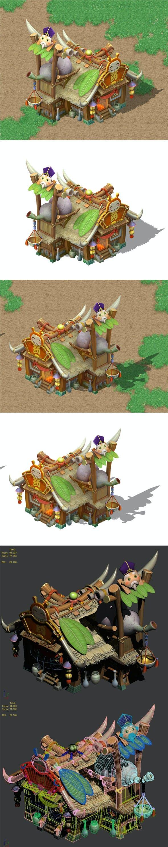 Cartoon World - Drugstore 04 - 3DOcean Item for Sale