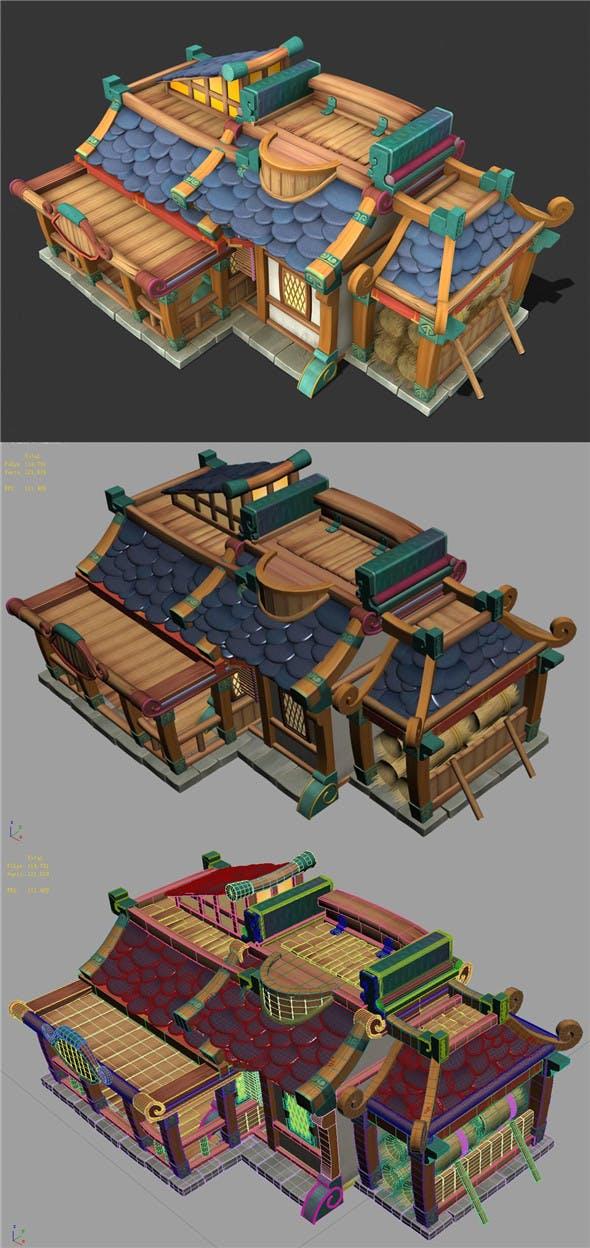 Cartoon World - Inn 002 - 3DOcean Item for Sale