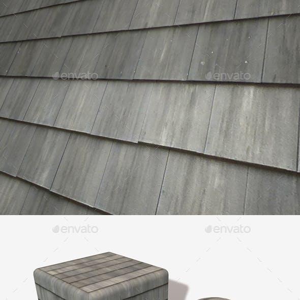 Grey Plastic Roof Tiles Seamless Texture