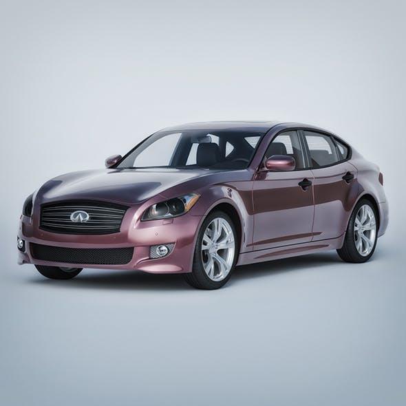 Vray Ready Realistic Infiniti Car