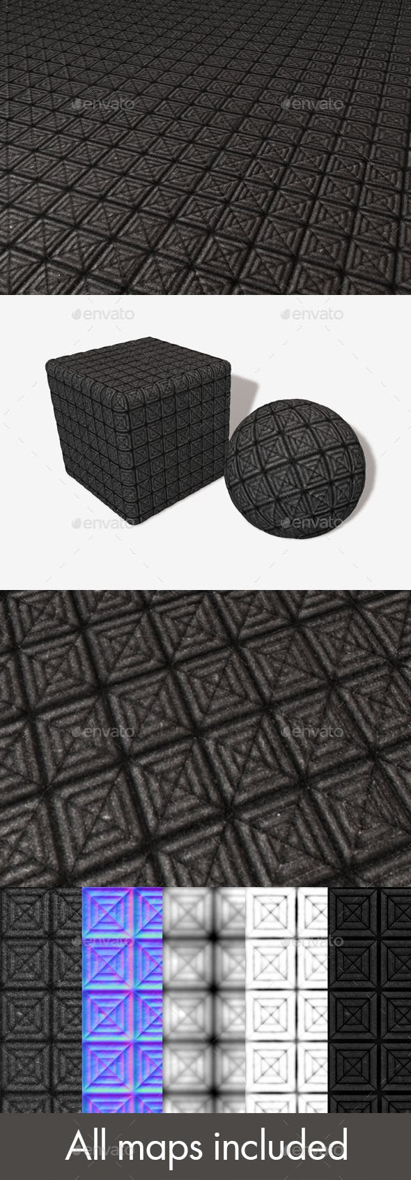 Entrance Tread Tiles Seamless Texture - 3DOcean Item for Sale
