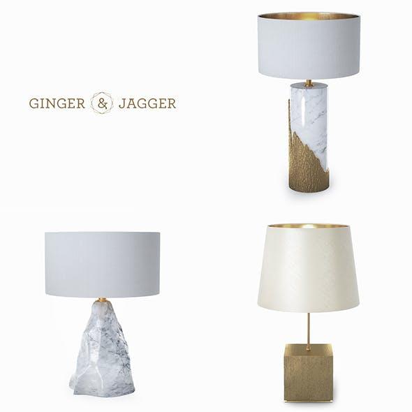 Ginger & Jagger lamps - 3DOcean Item for Sale