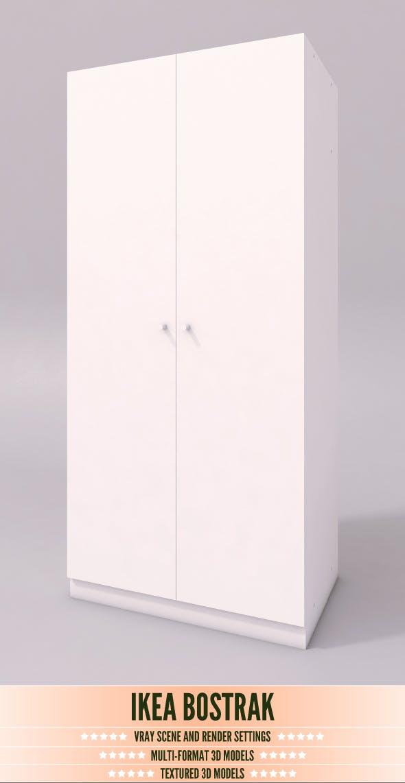 Ikea Bostrak - 3DOcean Item for Sale