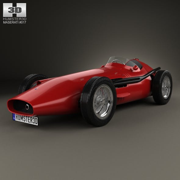 Maserati 250F 1954 - 3DOcean Item for Sale