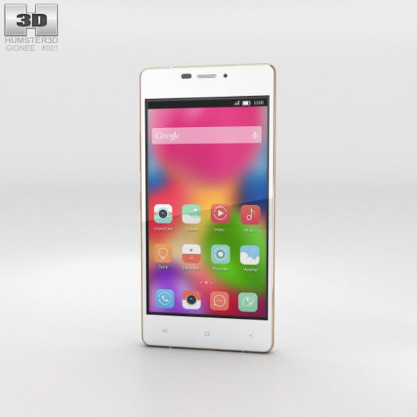 Gionee Elife S5.1 White - 3DOcean Item for Sale