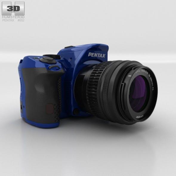 Pentax K-30 Blue