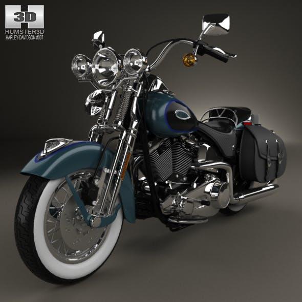 Harley-Davidson FLSTS Heritage Springer 2002 - 3DOcean Item for Sale