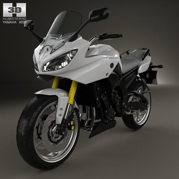 Yamaha FZ8 2013 - 3DOcean Item for Sale