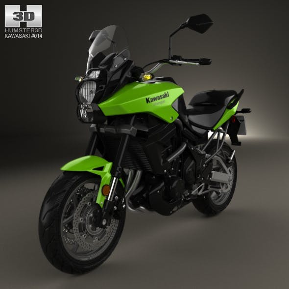 Kawasaki Versys 2014 - 3DOcean Item for Sale