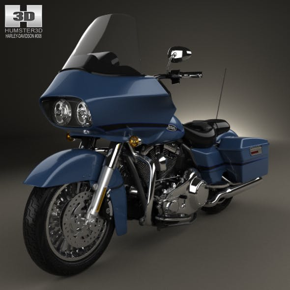 Harley-Davidson FLTR Road Glide 2009 - 3DOcean Item for Sale